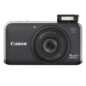 Photo of Canon PowerShot SX210 IS Digital Camera