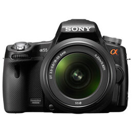 Sony Alpha SLT-A55VL with 18-55mm lens Reviews