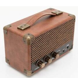 GPO MINI Westwood Bluetooth Retro Speaker - Brown