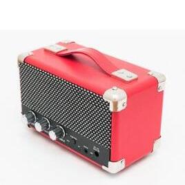 GPO Mini Westwood Bluetooth Retro Speaker - Red