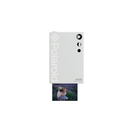 Polaroid Mint Camera with 5 Free Prints - White