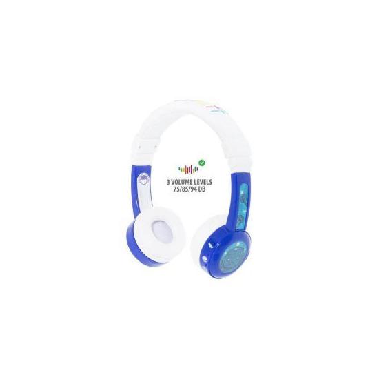 BuddyPhones InFlight Wired Headphones - Blue