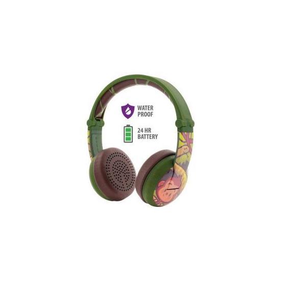 BuddyPhones Wave Wireless Headphones - Moneky Green