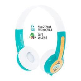 BuddyPhones Connect Wired Headphones - Teal