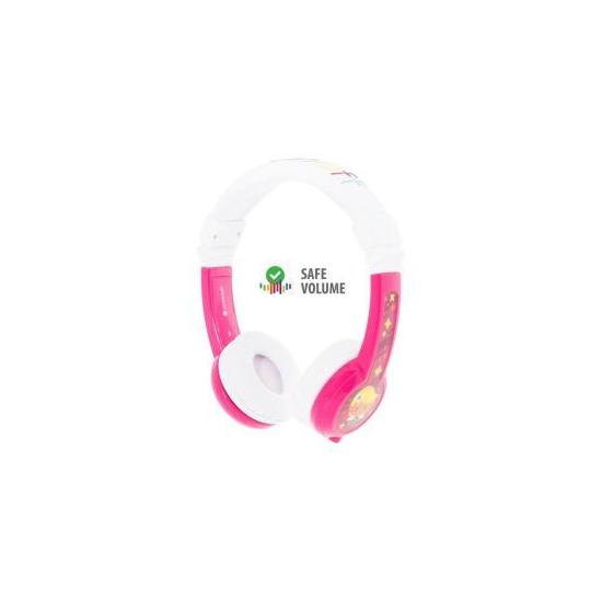 BuddyPhones Explore Foldable Wired Headphones - Pink