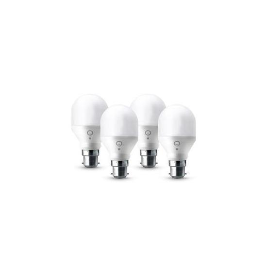 LIFX Mini A19 B22 - Colour Smart Bulb - 4 Pack