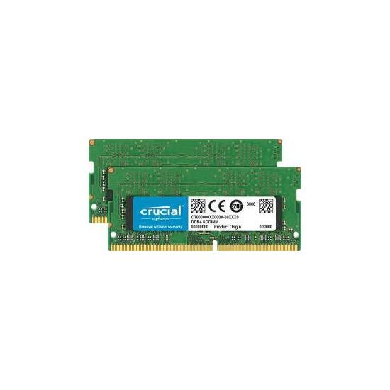 Crucial 4GB Kit (2GBx2) DDR4 2400 SODIMM