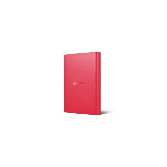 Sony 2TB External Hard Drive - Red