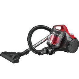 ESSENTIALS C700VC18 Cylinder Bagless Vacuum Cleaner - Red & Grey Reviews