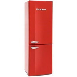 Montpellier MAB385R 60/40 Fridge Freezer - Red Reviews