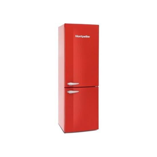 Montpellier MAB385R 60/40 Fridge Freezer - Red