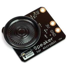 MonkMakes Speaker for BBC micro:bit - Black