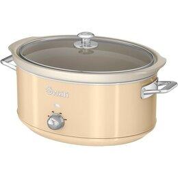 Swan Sf17031cn 6.5l Slow Cooker Retro Cream Reviews