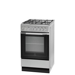 Indesit IS5G1PMSS/UK 50 cm Gas Cooker - Silver Reviews