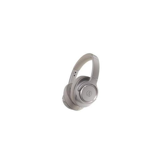 Audio Technica ATH-SR50BT Wireless Over-Ear Noise Cancelling Headphones - Grey