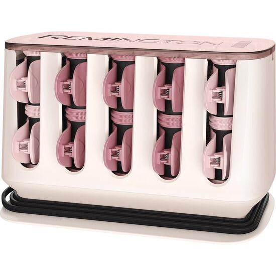 Remington ProLuxe H9100 Rollers - White & Rose Gold