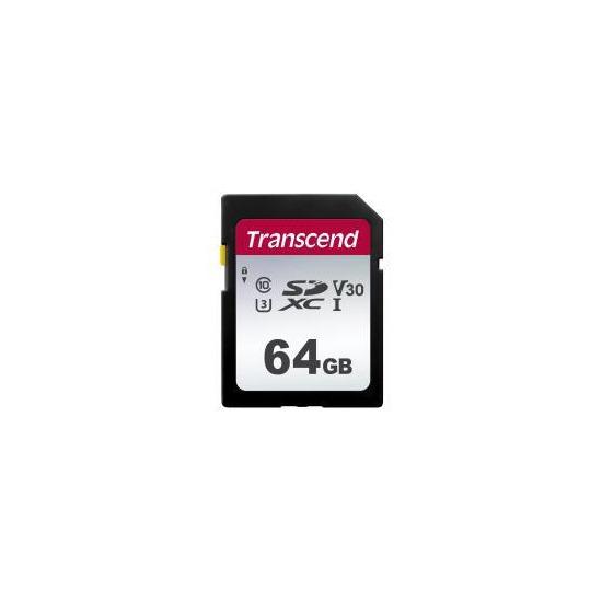 Transcend 64GB UHS-I U3 SD Memory Card