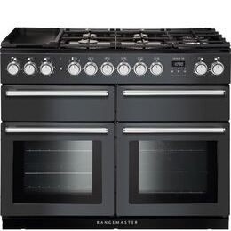 Rangemaster Nexus SE NEXSE110DFFSL/C 110 cm Dual Fuel Range Cooker - Slate & Chrome Reviews