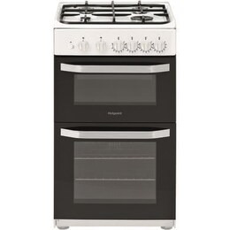 Hotpoint HD5G00KCW 50 cm Gas Cooker - White Reviews