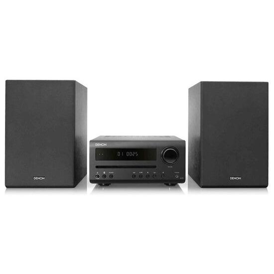 Denon DT-1 Bluetooth Traditional Hi-Fi System - Black