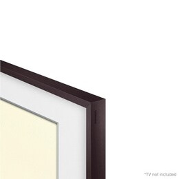 Samsung 43 Customisable Frame Bezel - Brown plastic