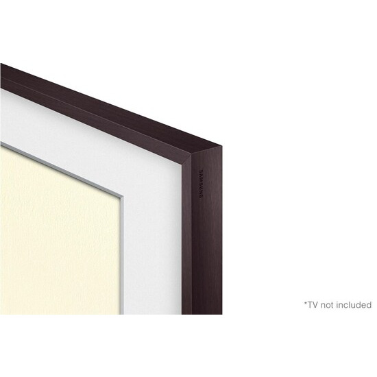 Samsung 43 Customisable Frame Bezel - Brown plastic
