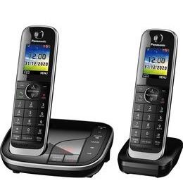 Panasonic KX-TGJ422EB Cordless Phone - Twin Handsets Reviews