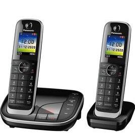 Panasonic KX-TGJ422EB Cordless Phone - Twin Handsets Reviews