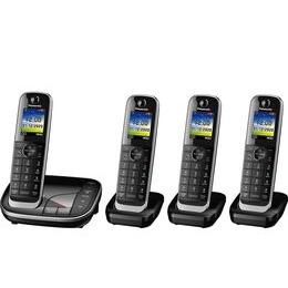 Panasonic KX-TGJ424EB Cordless Phone - Quad Handsets Reviews