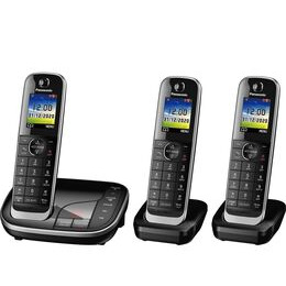 Panasonic KX-TGJ423EB Cordless Phone - Triple Handsets Reviews
