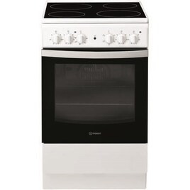 Indesit IS5V4KHW 50 cm Electric Ceramic Cooker - White Reviews