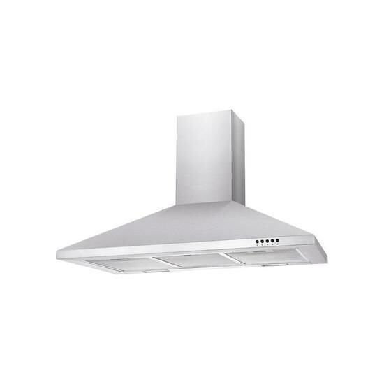 Candy CCE90NX Chimney Cooker Hood - Stainless Steel