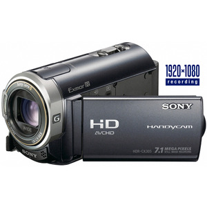 Photo of Sony HDR CX305 Camcorder