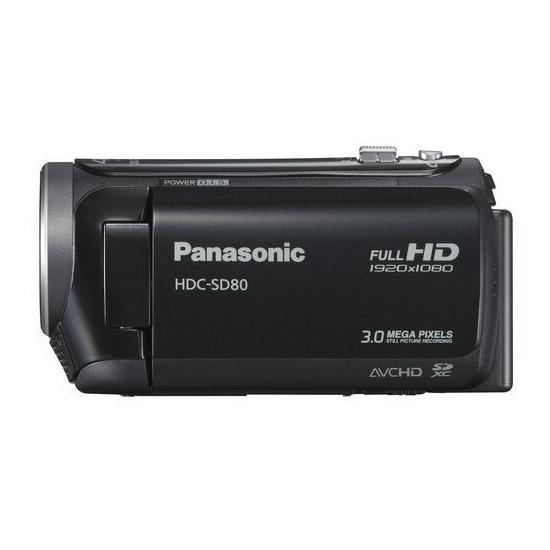 Panasonic HDC SD80