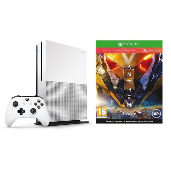 Xbox One S with Anthem