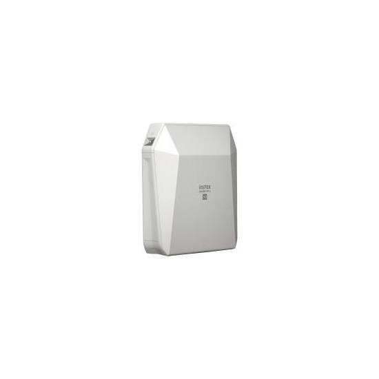 Fujifilm Instax SP-3 Share SQ Square WiFi Photo Printer & 20 Film Pack - White