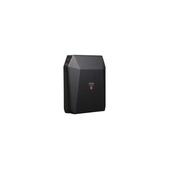 Fujifilm Instax SP-3 Share SQ Square WiFi Photo Printer & 20 Film Pack - Black