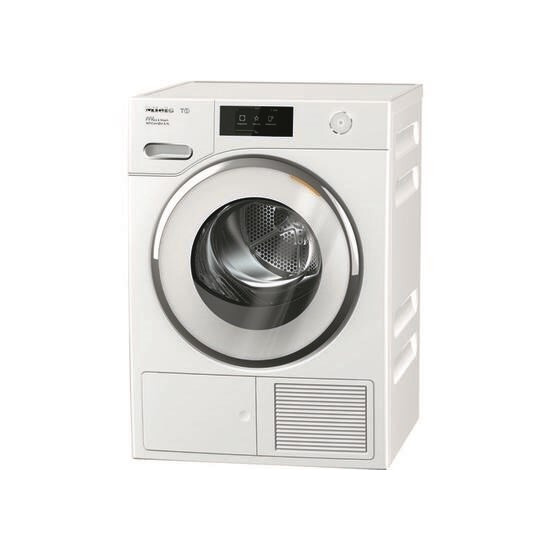 MIELE TWR860 WP WiFi-enabled 9 kg Heat Pump Tumble Dryer - White