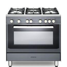 Kenwood CK307G SL 90 cm Gas Range Cooker - Grey & Chrome Reviews