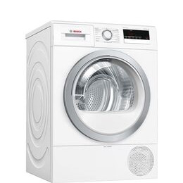 Bosch Serie 4 WTR85V21GB 8 kg Heat Pump Tumble Dryer - White Reviews