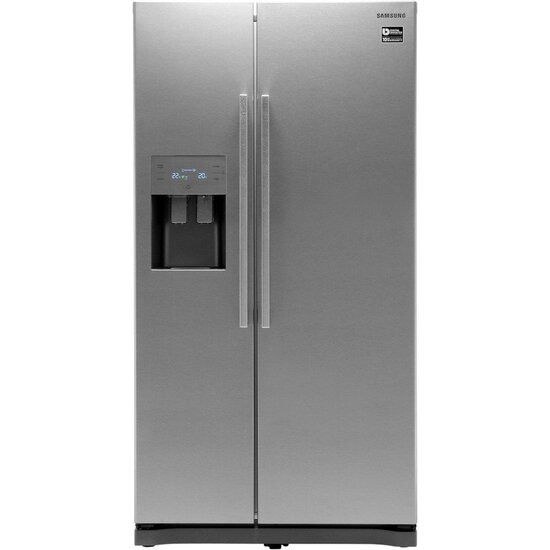 Samsung RS50N3513 No Frost Side-by-side Fridge Freezer With Ice And Water Dispenser - Silver