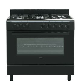 Logik LFTG90B18 90 cm Duel Fuel Range Cooker - Black Reviews