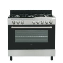 Logik LFTG90X18 90 cm Duel Fuel Range Cooker - Stainless Steel Reviews
