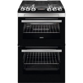 Zanussi ZCG43250XA 55 cm Gas Cooker - Stainless Steel Reviews