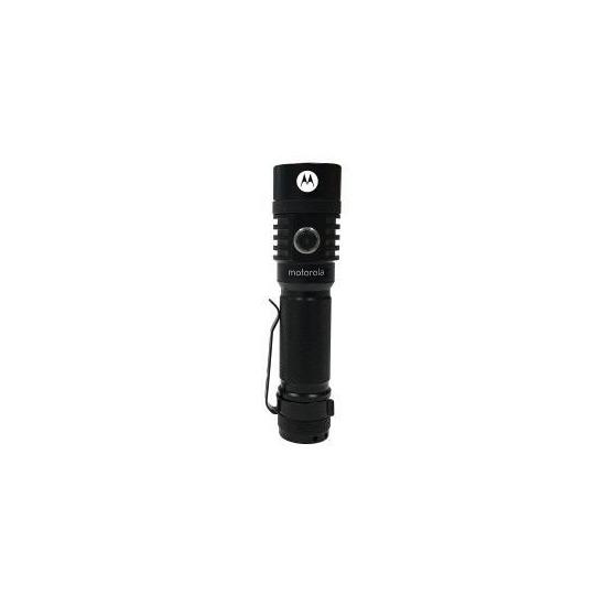 Motorola MR520 ReLED Rechargeable Flashlight with 300 Lumens - Black