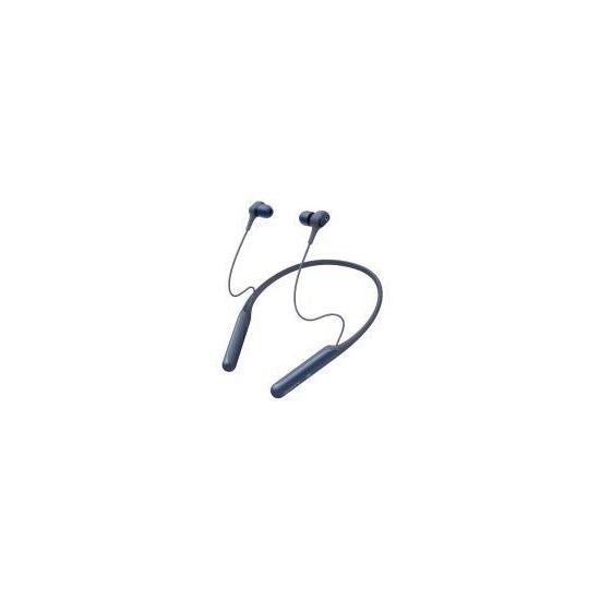 Sony WI-C600N Wireless Noise Cancelling In Ear-Neckband Headphones  - Blue