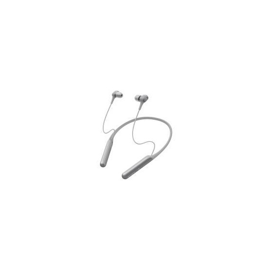 Sony WI-C600N Wireless Noise Cancelling In Ear-Neckband Headphones -Silver