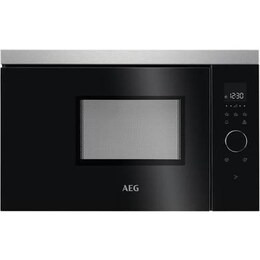 AEG MBB1756SEM Built-in Solo Microwave - Black & Stainless Steel Reviews
