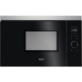 AEG MBB1756SEM Built-in Solo Microwave - Black & Stainless Steel Reviews