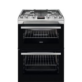 Zanussi ZCG63260XE 60 cm Gas Cooker - Stainless Steel Reviews